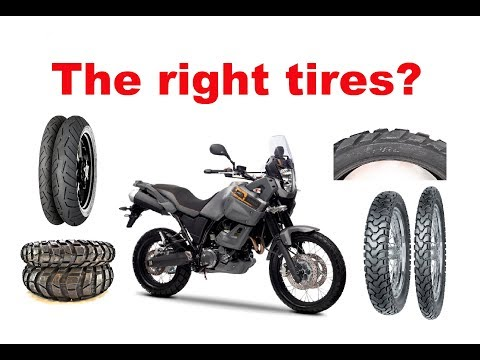 How To Choose The Right Tires For Long Motorcycle Trip?