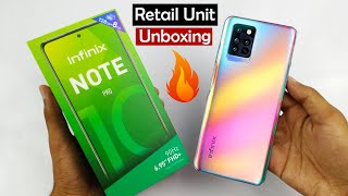 Infinix Note 10 Pro Unboxing & First Look