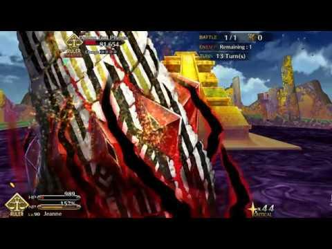 [FGO] Agartha Chapter 16 Arrow 5 Demon God Phenex Fight