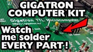 Gigatron Part 1: Assembly