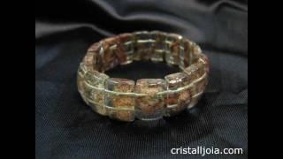 cuarzo ahumado, rutilado y con clorita, Cristalljoia