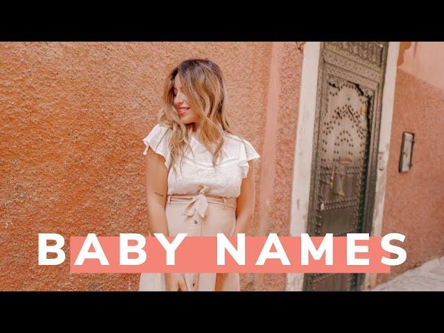 BABY NAMES TAG - Les prénoms de bébés !