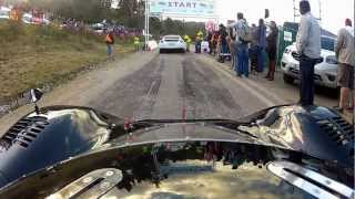 Porsche 917 gunning it at the Renault Simola Hilcllimb 2012!