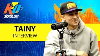 Tainy Talks Going From Producer To Artist & Linking Up W/ Ozuna & Anuel AA + Adicto!