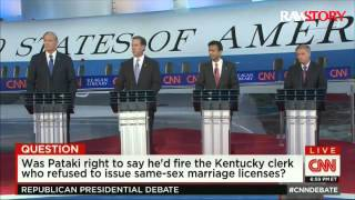 Rick Santorum: Kim Davis is like victim of the Columbine massacre