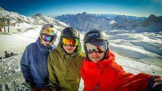 Skiing at Zugspitze - Ski Edit - [FullHD] - 60FPS