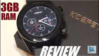 REVIEW: Kospet Hope 4G Smartwatch (3GB RAM/32GB ROM)