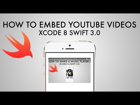 How To Embed YouTube Videos Into Your App In Xcode 8 (Swift 3.0)
