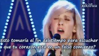 Your Biggest Mistake - Ellie Goulding Subtitulado Español