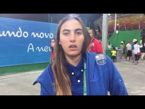 """Dolores """"lola"""" Moreira en los Juegos Olímpicos de Río 2016"""