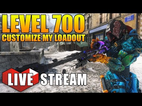 Black Ops 3 - Double XP Weekend! Level 700 & Customize My Loadout #2 | BO3 Multiplayer Live Stream