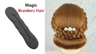 Latest Hairstyle For Wedding Function Most Beautiful Hairstyle For Party Trending Hairstyle