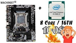 Крутой комплект на LGA2011-3 за 100$. Такое возможно? ДА! MACHINIST X99Z V102 + Xeon E5 2630Lv3