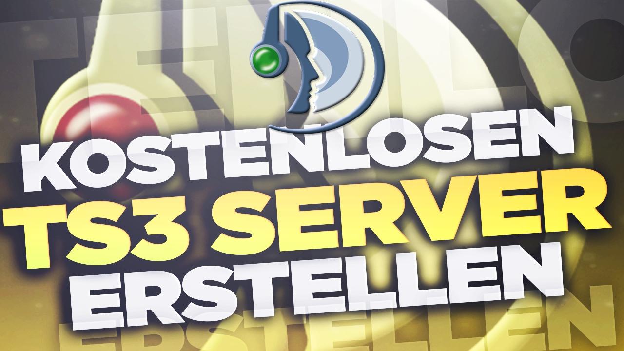 KOSTENLOS Einen TEAMSPEAK SERVER Erstellen Tutorial - Minecraft server erstellen 24 7 kostenlos