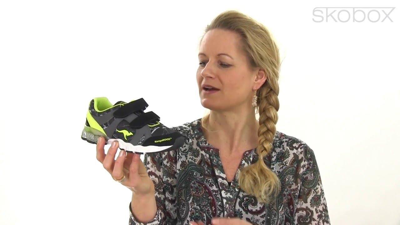 31d8cfb435c6 Skobox - Kangaroos Volt blinkesko til de seje drenge - Køb Kangaroos sko  online