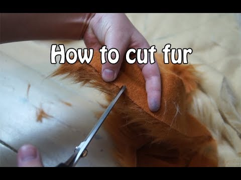 //Tutorial// How to cut fur