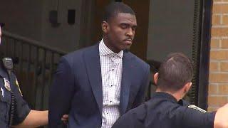 Raw Video: Celtics Guard Jabari Bird Heads To Court