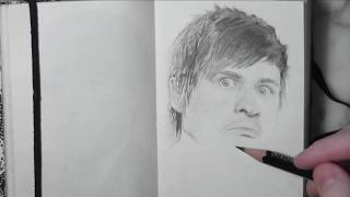 Anthony Padilla (Smosh) Time Lapse Drawing
