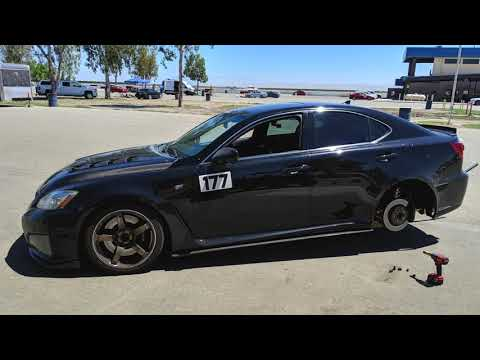 2 Tracks in ONE day? Streets Of Willow/Buttonwillow -Lexus ISF benchmark  time weekend!