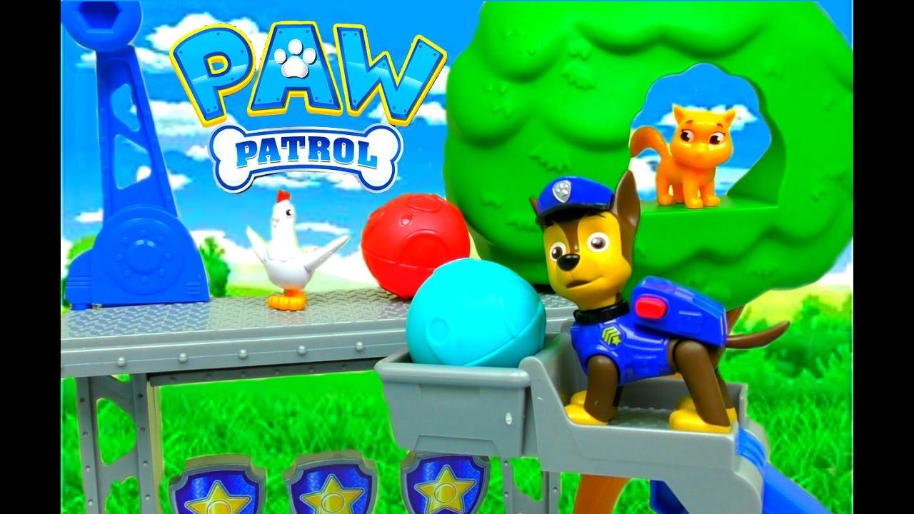 ЩЕНЯЧИЙ ПАТРУЛЬ на русском ПРИШЕЛЬЦЫ PAW Patrol Лапа Патруль Щенячий Патруль Игрушки