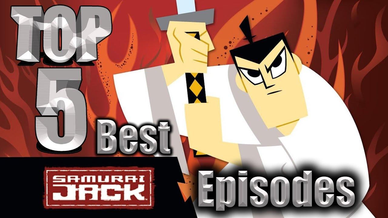 top 5 best samurai jack episodes youtube