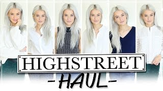 HIGH-END HIGHSTREET HAUL AND TRY ON | Topshop, Reiss, Joseph, Whistles, Rag and Bone