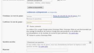 Creer un compte email avec Gmail-انشاء بريد الكتروني