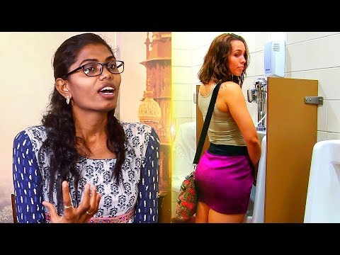 """People want to see us while Peeing in Toilet""   Tharika Banu & Grace Banu   BOATS 06"