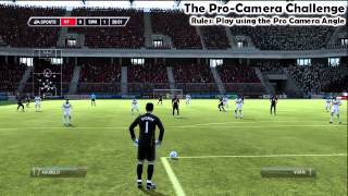 Pro Camera Angle Challenge | FIFA 12 Manual Controls