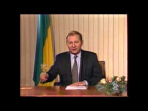 UKRAINIAN ANTHEM - New Year Address Of Leonid Kuchma 1997