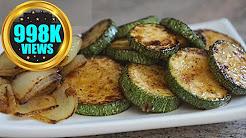 Sautéed Zucchini Recipe   Courgette Pan Frying Vegan Recipe