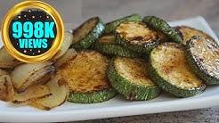 Sautéed Zucchini Recipe | Courgette Pan Frying Vegan Recipe