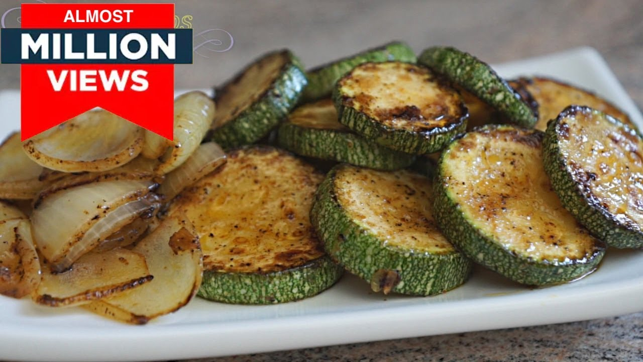 How to fry zucchini with garlic Roasted zucchini with garlic - photos, recipes 28