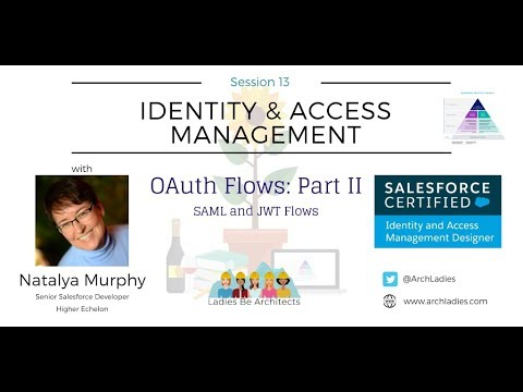 OAuth Part 2: SAML and JWT Flows with Natalya Murphy