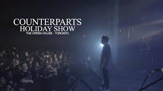 Holiday Show FULL SET - COUNTERPARTS Live // Toronto // 12.20.2018 - 4K