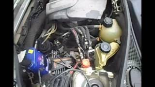 Замена жидкости гидроусилителя руля (ГУР) на Kangoo