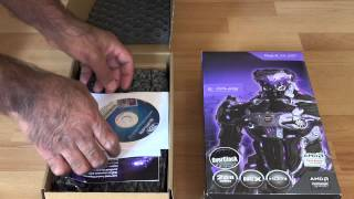 sapphire r9 285 graphics card unboxing