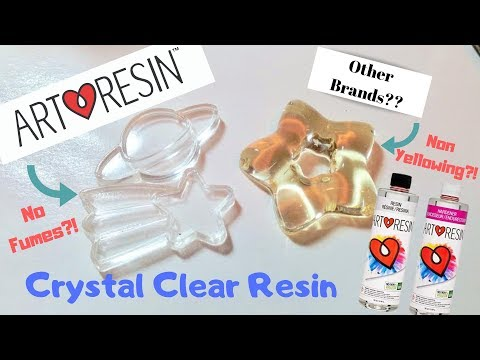 Art Resin Review | No fumes, Crystal Clear Resin