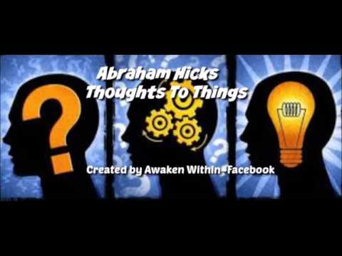 Abraham Hicks~Are you the thinker or receiver?AD FREE