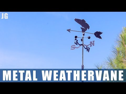 Restoring Metal Weathervane | JIMBOS GARAGE