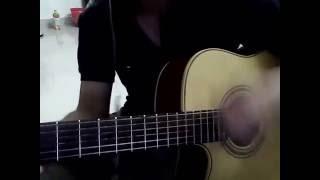 Em co yeu anh khong Bueno guitar cover