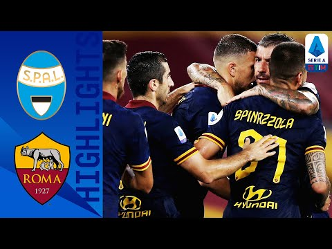 SPAL 1-6 Roma | Bruno Peres Bags a Brace as Roma Hit SPAL for Six! | Serie A TIM