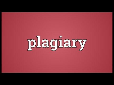 Header of plagiary