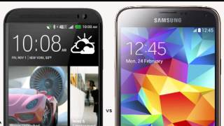 Samsung Galaxy S5 vs HTC One M8 - Full Comparison