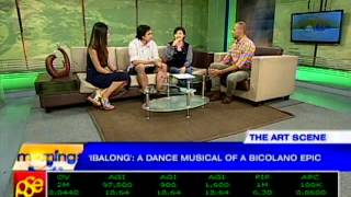 "A dance-theatre musical interpretation of the Bicolano epic, ""Ibalong"""
