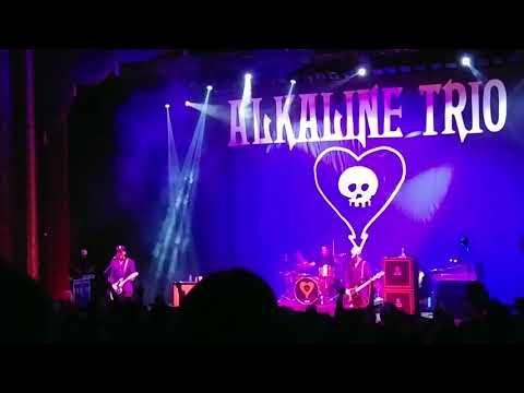 "Alkaline Trio - ""Warbrain"" (Royal Oak Music Theatre 8-8-2018)"