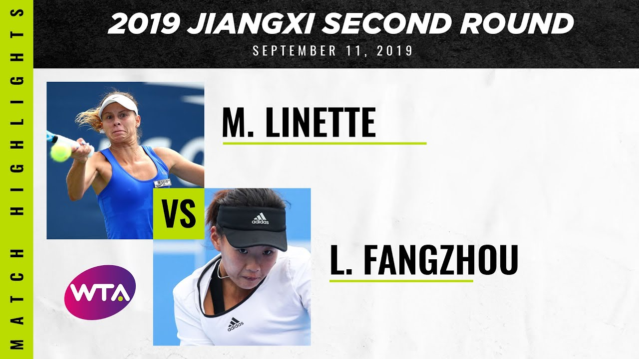 Magda Linette vs. Liu Fangzhou | Jiangxi Open Second Round | WTA Highlights