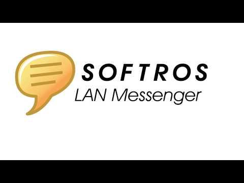 Softros LAN Messenger for Windows 10, 7/8, XP