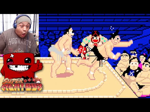 SUMO WRESTLING AND SUPER MEAT BOY!