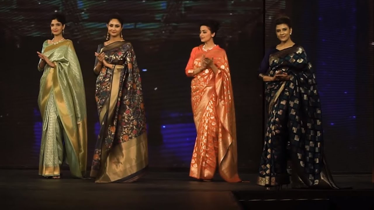 Download Best Top Indian Saree Fashion Show Top Indian Model In Sarees